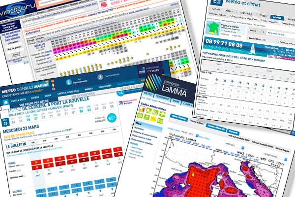 Applications et sites web météo sont bien utiles